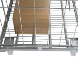 Cage Trolley with Shelves
