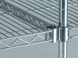 Chrome Wire Kitchen Shelving