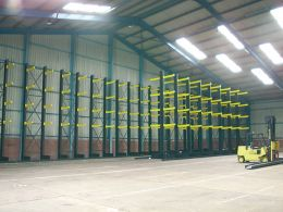 Double Vertical Storage Racking