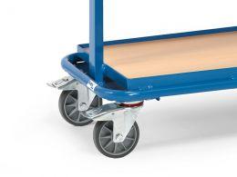 Euro Tiltable Shelf Container Trolley