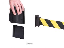 Wall Mounted Retractable Barrier System