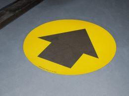 """""""Black Arrow"""" Floor Graphic Marker"""