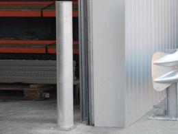 Galvanised Warehouse Safety Bollards