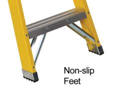 Glassfibre Swingback Stepladder