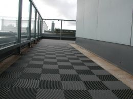 Rubber Swimming Pool Flooring