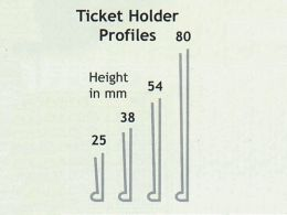 Magnetic Ticket Holders