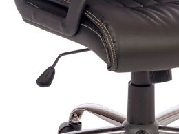 Milan Leather Look Executive Office Chair