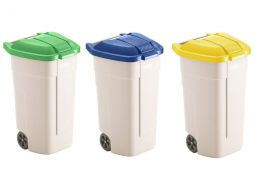 Mobile Waste Recycling Bins