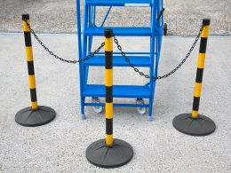 Post and Chain Barriers