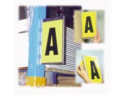 Self-Adhesive Bay Markers