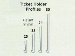 Self-Adhesive Ticket Holders