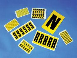 Self Adhesive Vinyl Numbers & Letters