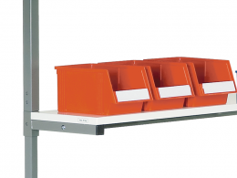 Height Adjustable Auxiliary Shelf for TPH Benches (1200W)