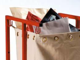 Single Mobile Sack Holder
