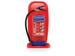 Single Plastic Extinguisher Stand