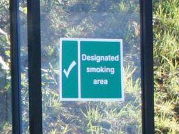 Outdoor Smoking Shelter