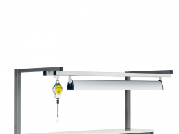 Tool & Lighting Support Frame for TPH Benches (1200W)