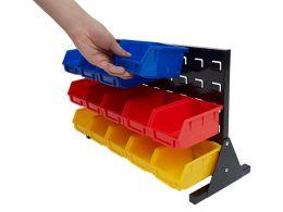 Storage Bin Rack