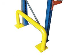 Tubular Rack End Barriers