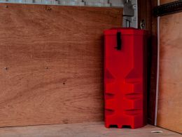 Vehicle Extinguisher Cabinet
