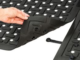Mat connectors for securely linking multiple mats (10 Pack)
