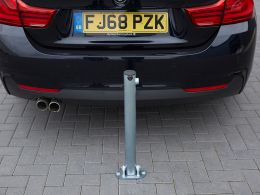 Folding Parking Post