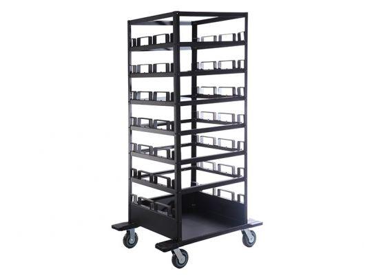 21 Post Horizontal Storage Trolley