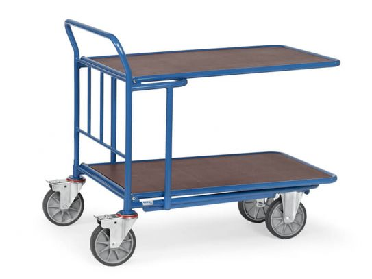 Double Decked Cash and Carry Trolley