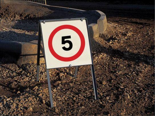 Economy Works Traffic Signs