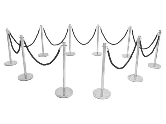 Entrance Rope Barrier