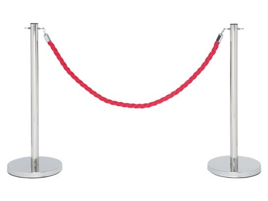 Red Rope Barrier