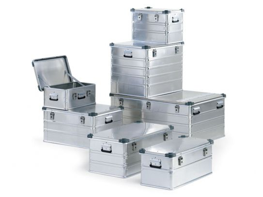 Heavy Duty Aluminium Containers