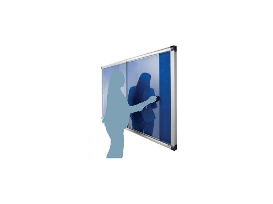 Metropolitan Acrylic Sliding Door Noticeboard