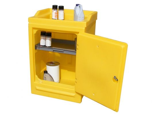 Poly Work Stand with Lockable Door