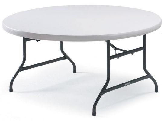 Polyfold Lightweight Circular Table