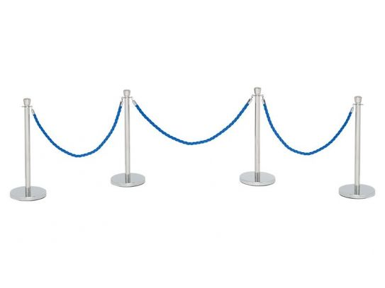 Post and Rope Barrier