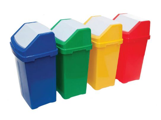 Recycling Flip Top Bins