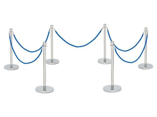 Rope and Post Barrier