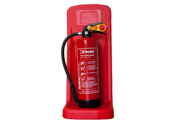 Single Plastic Extinguisher Stand