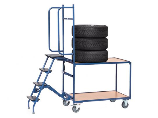 Tyre Picking Trolley