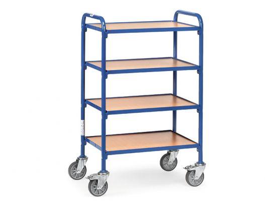 Wide Board Shelf Container Trolley