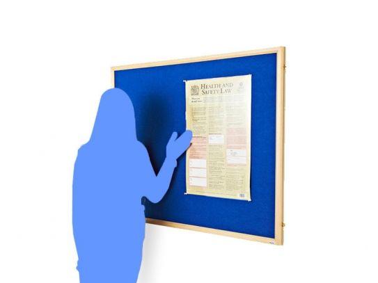 Wood Framed Noticeboards
