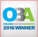 Online Business Awards 2016 Winner