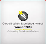 Global Business Excellence Award 2016 Winner
