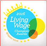 Living Wage Champion Awards 2016 Winner