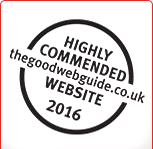 The Good Web Guide Website of the Year Awards 2016 Commendation