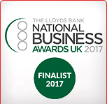 National Business Awards 2017 Finalist