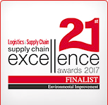 Supply Chain Excellence Awards 2017 Finalist