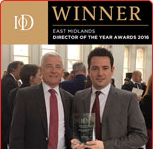 INSTITUTE OF DIRECTORS - 2016 EAST MIDLANDS DIRECTOR OF THE YEAR