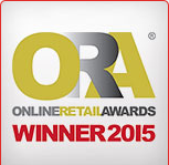 ONLINE RETAIL AWARDS 2015 WINNER